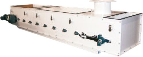 Dosificador Volumétrico tipo banda transportadora