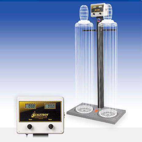 Balanzas electrónicas y cilindros de alta presión