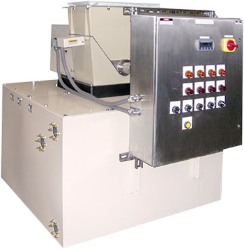 Sistema integrado de dosificación de químicos sólidos