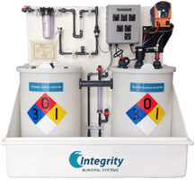 IMS Packaged 2-Tank Sodium Fluoride Saturator and Feed System