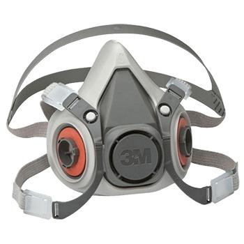 Máscara media cara 3M